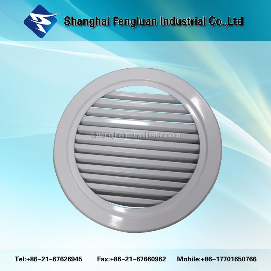 High quality round waterproof louver vents