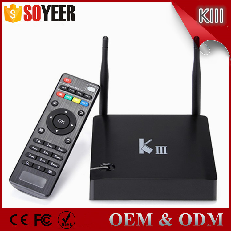 Soyeer K3 Tv Box S905 Android 6.0 Tv Box Kiii Pro Tv Box