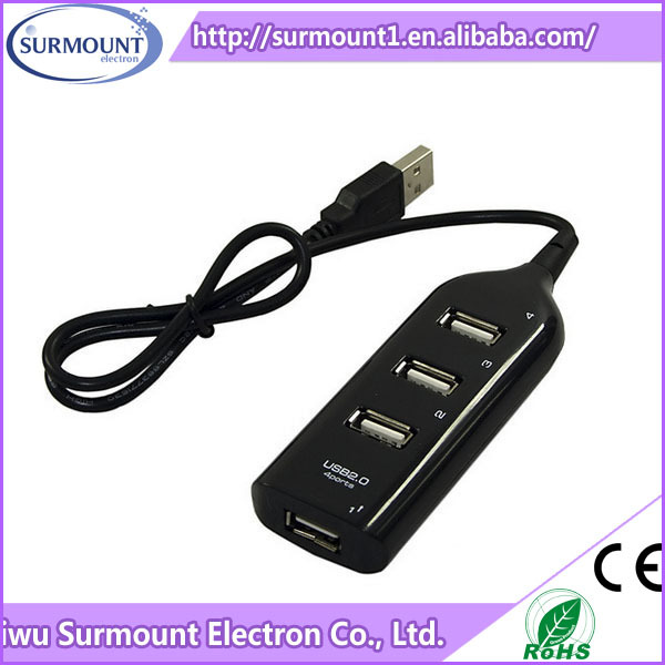 High speed 4 Port USB 2.0 HUB for tablet PC Computer