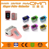 Portable Medical Finger Pulse Oximeter Health