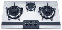 Stainless Steel Gas Hob Cooktop 3 Burner factory