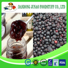 China new crop fresh fruit black currant jam