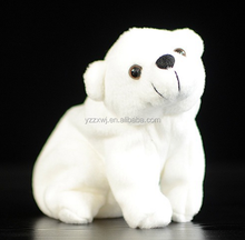 free sample white polar bear toys stuffed polar bear toys for children soft polar bear toys