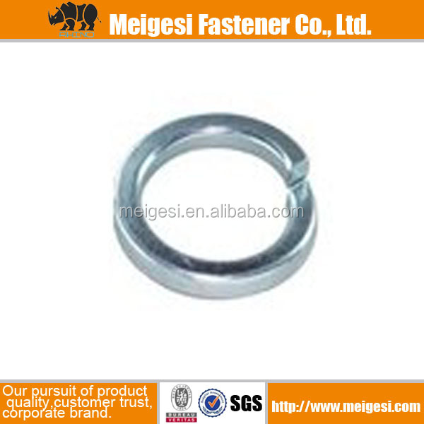 Hot sale high quality galvanized carbon steel spring washer made in china