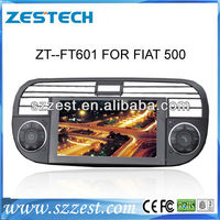 ZESTECH for Fiat 500 7 inch car headrest dvd player with wireless game
