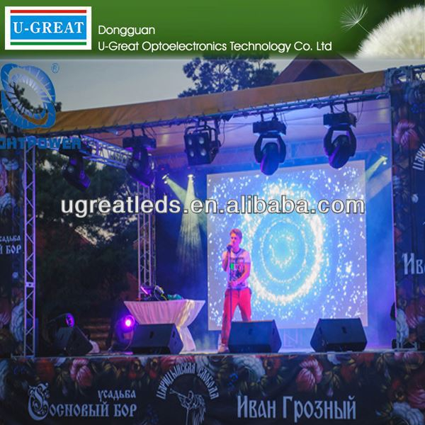 New invention technology P8 Outdoor mobile led screen