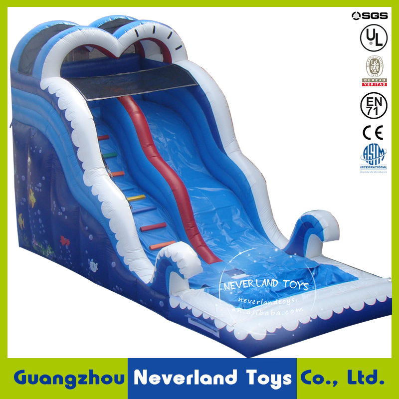 2016 New Design NEVERLAND TOYS Inflatable Submarine World Water Slide Water Park Best Sellers