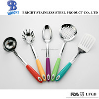 a10060 abs handle stainless steel kitchen utensil