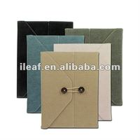 Envelope Style Leather Cover Case for The New iPad /iPad2