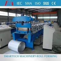 Color steel concealed fix roofing interlocking standing seam profile roll formed machine