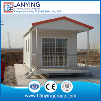 High quality sandwich panel villa prefabricated houses