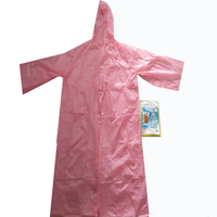 Promotion fashion adult waterproof fabric plastic disposable raincoat/rain coats poncho