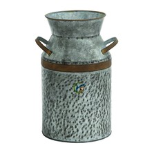 Decorative Antique Galvanized Milk Can