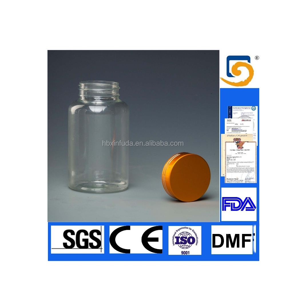 Plastic Bottle for capsules and pill