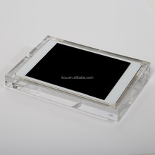 High quality plexiglass holder acrylic tablet pc display stand for ipad mini2 3 appropriative