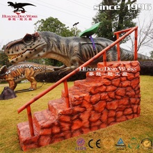 Amusement Park Attractive Moving Dinosaur Ride Factory