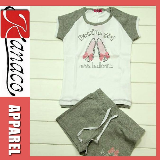 Girls and Boys Fashion Designer Clothing(KN-CS-24)