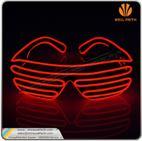 EL cold sunglasses Luminous Party Lighting For Dance led party glasses
