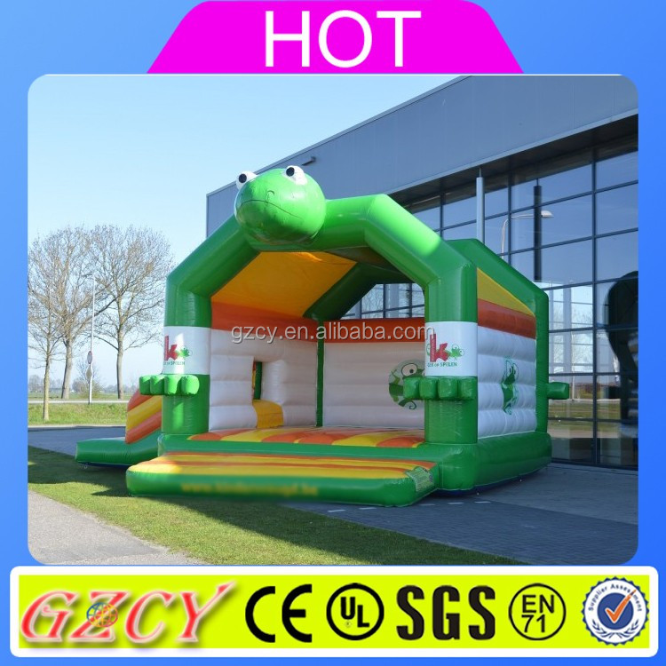 Inflatable trampoline jumping/inflatable castle small/inflatable bounce house