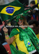 2014 World Cup hand national flag for football fans