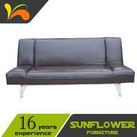 Leather Folding Sofa Bed & European Style