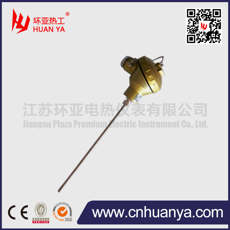 K type industrial thermocouple with connection head
