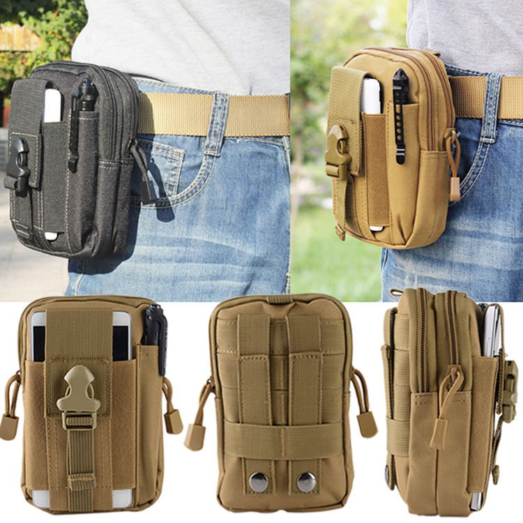 Fashion Leisure waist bag Men leg pouch hip bag runing sport waist bag