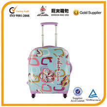 Travel luggage colorful lightweight abs+pc luggage