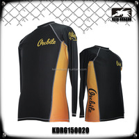 Mens Compression Mma Rush Guard Running Wear