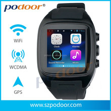 waterproof smart watch and phone smart watch gps 3g G sensor, GSM/WCDMA 3G mobile phone android 4.2 smart watch and phone
