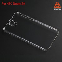 Stryfer Wallet Leather Case original blank cover for HTC One E9 , Plastic transparent clear cover for HTC E9