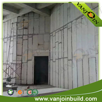 Eco-friendly fire proof nonflammable wall panels
