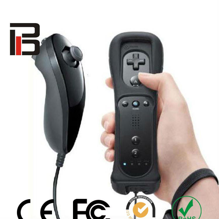 FCC/CE for wii controller combine remote controller for wii manufacture