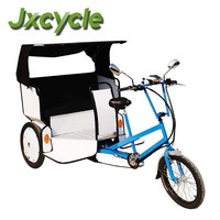 Hydraulic disc brakes pedal rickshaw tricycle
