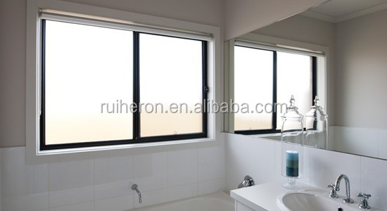 Soundproof aluminum window for mobile home