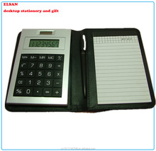 calculator New pocket notebook simple calculator with pen & memo pad