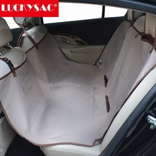 High Quality Durable Quilted Hammock Pet 600D Polyester Fabric Car Seat Cover