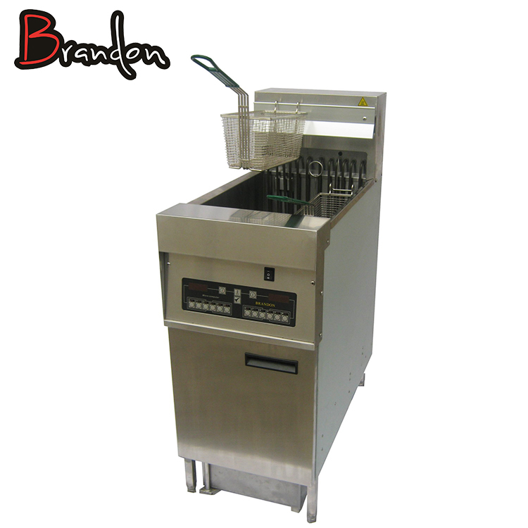French Fries Industrial General Electric Deep Fryer With Oil Filter