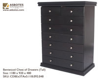 Chest of drawers - Bentwood Chest of Drawers