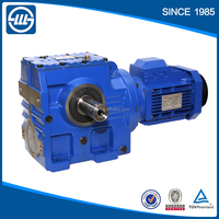 high efficiency s series helical worm gear gearbox for lawn mower