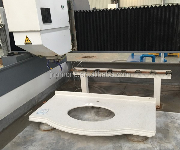 quartz stone edging machine marble granite quartz nature stone cnc stone fixing machine