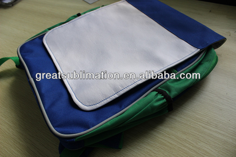 blue sublimation backpack for children