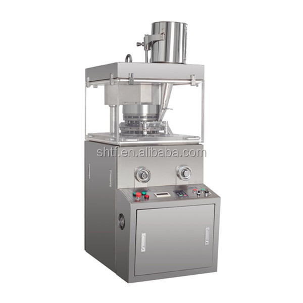 Zpw15D single-pressing type machine with automatic rotation and continuous tablet ,Rotary Tablet Press Zpw15D,special shaped