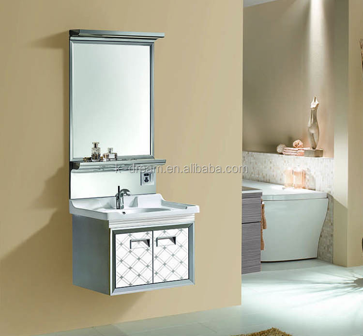 Vanity top with integral bowl/ import cabinet made in italy KD-BC084S