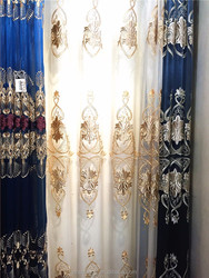 High-Grade Embroidery Poly Style curtain turkey
