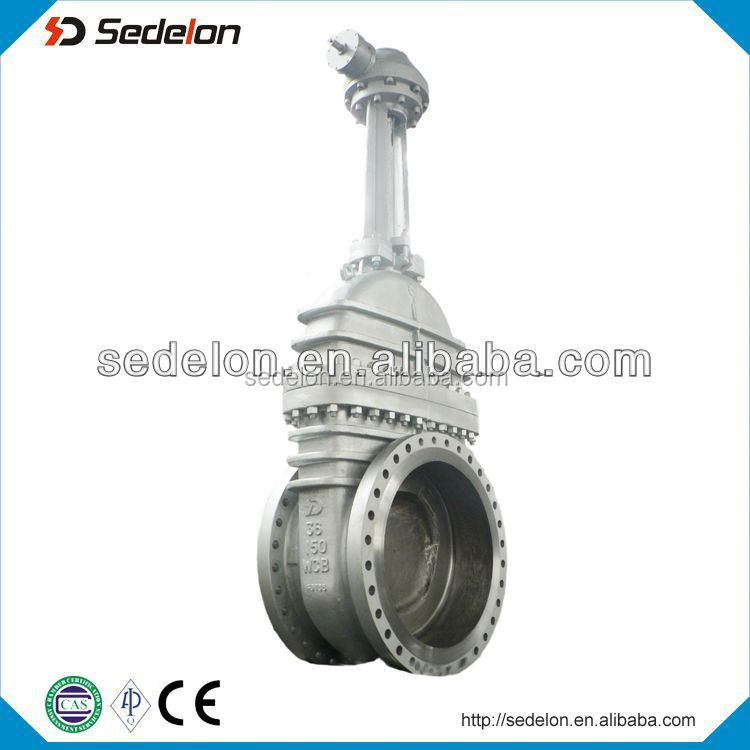 Chain wheel Cast Steel Gate Valve Class 150/300/600