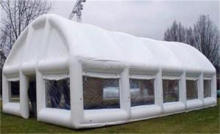 Inflatable business events sewing tent / inflatable white
