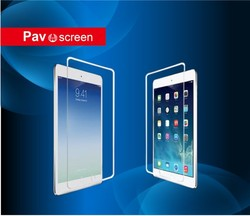 new premium full size and high clear tempered glass screen protector for ipad mini lcd screen protector