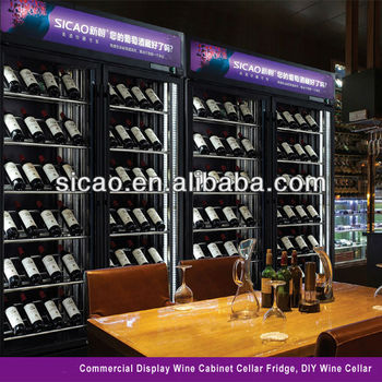 custmoised wine cellar wine refrigerator according on yours design