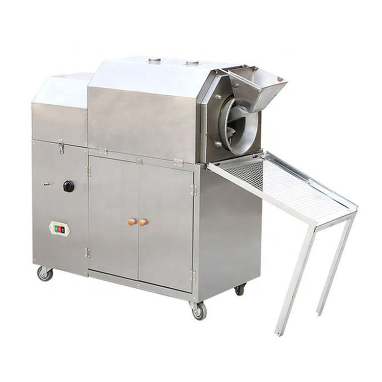 OC-100G Stainless Steel Electric/Gas Rice/ <strong>Grain</strong>/Cocoa Bean/Almond Nut Roaster/Peanut Roasting Machine